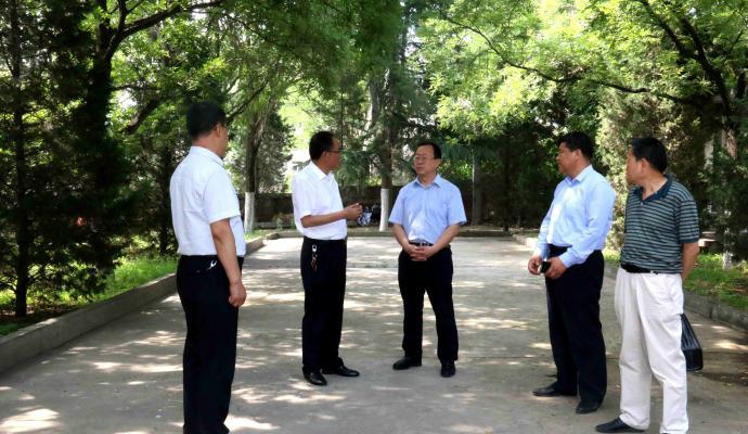 市委常委、市委组织部部长贾义翔调研党校工作